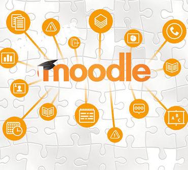 Moodle LMS.